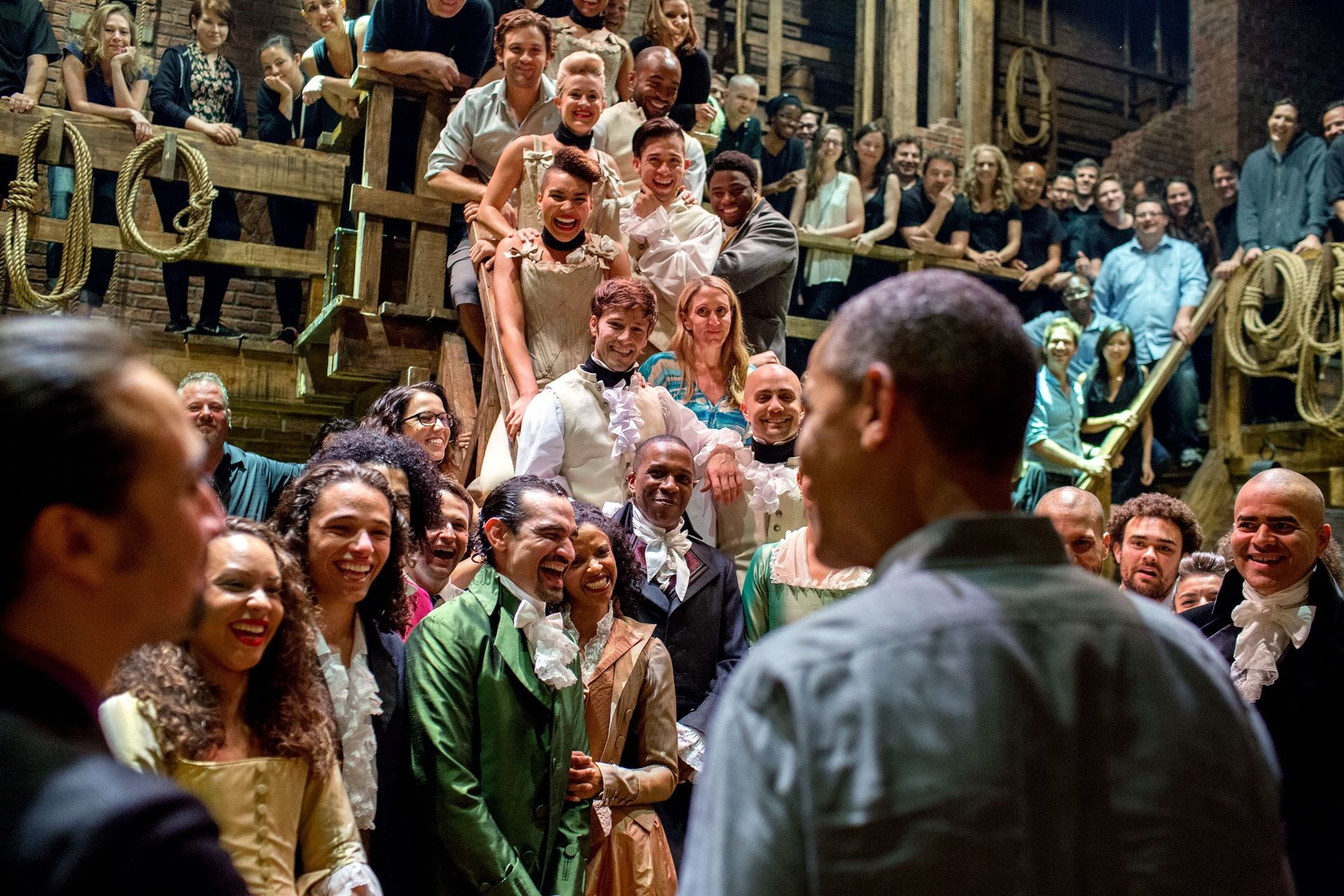 Obama Hamilton cast