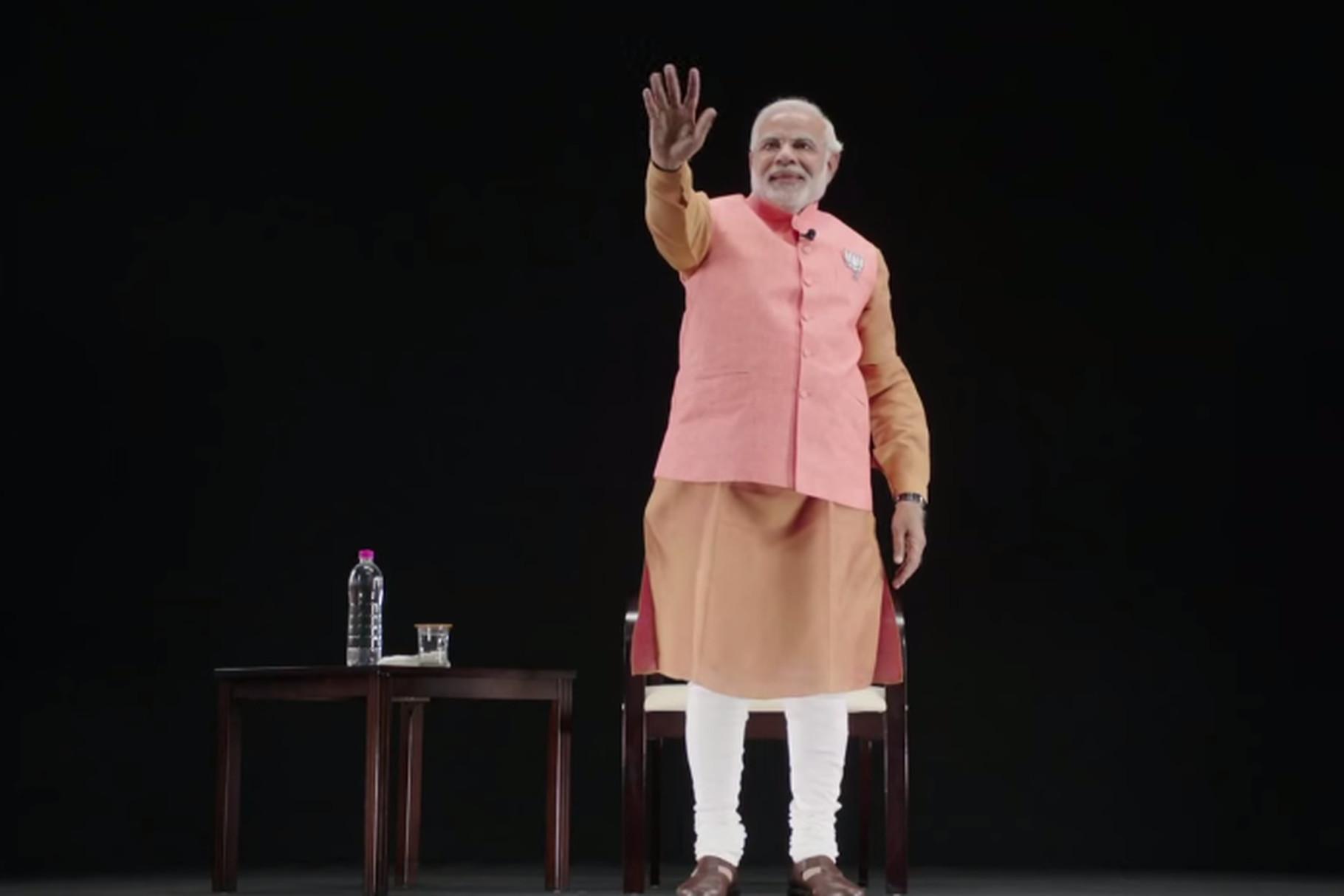 The Modi Hologram