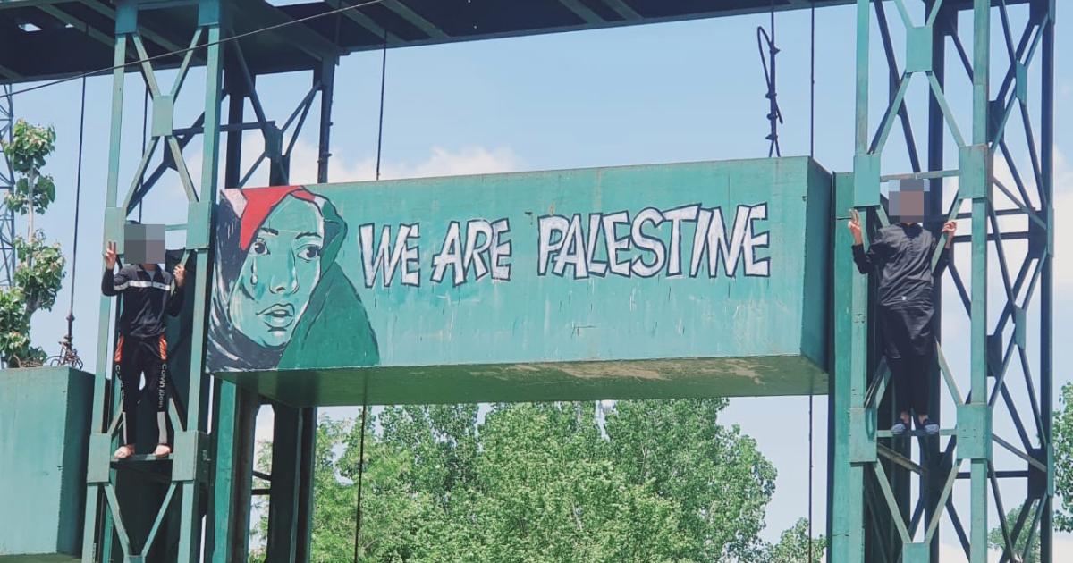 Kashmiri solidarity with Palestine