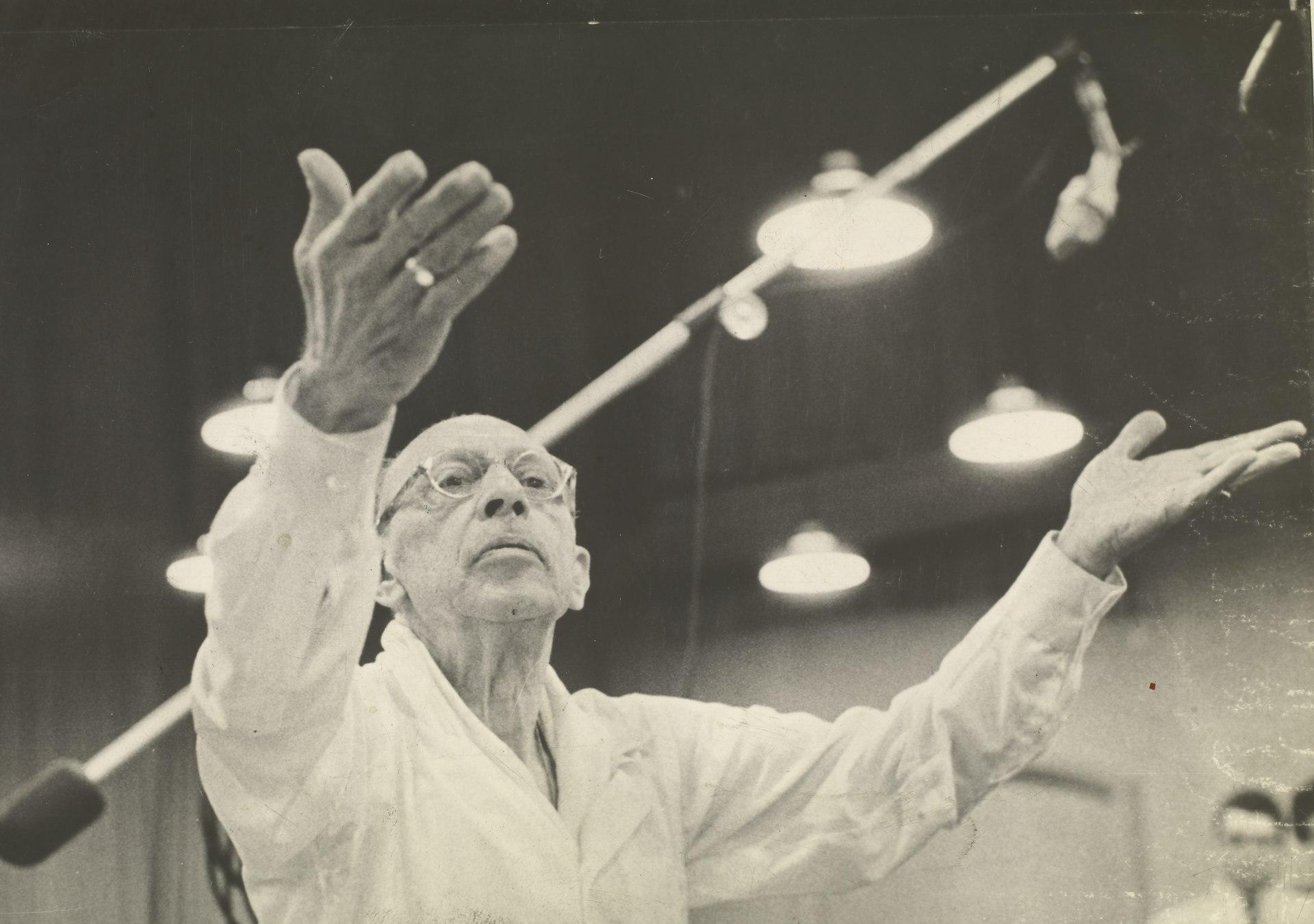 Igor Stravinsky, 1962