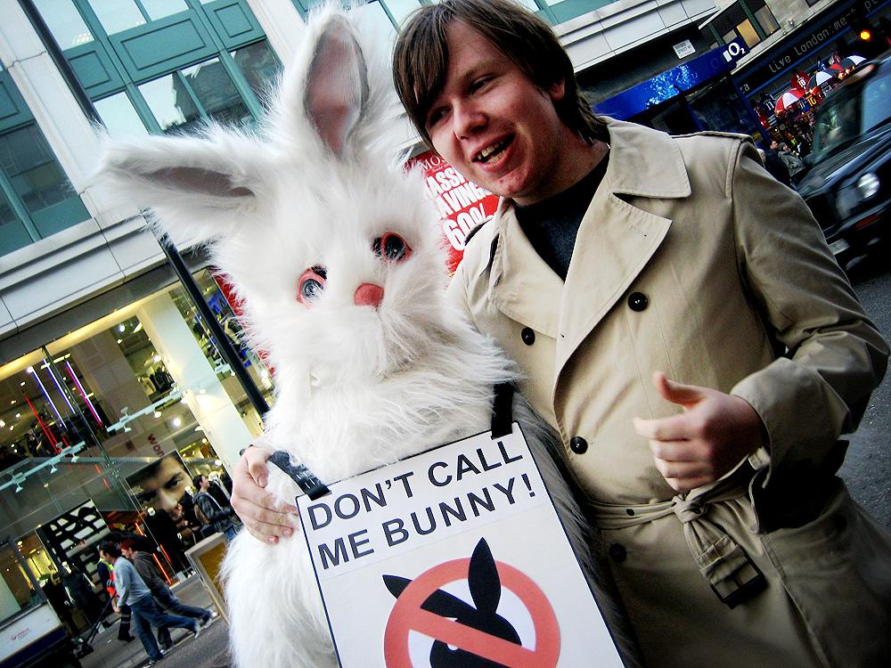 Anti-pornography protest on Oxford Street, London