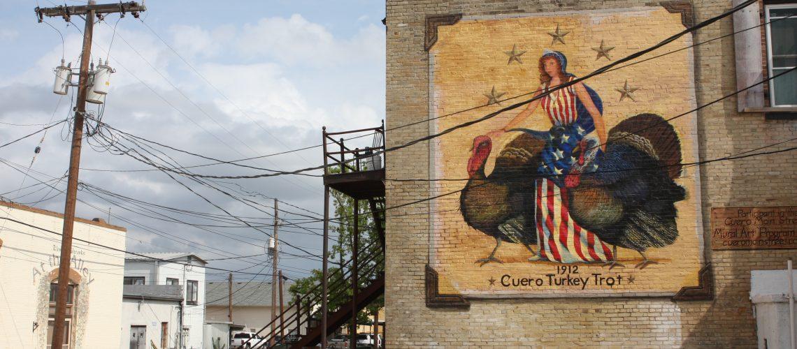 Turkey trot mural
