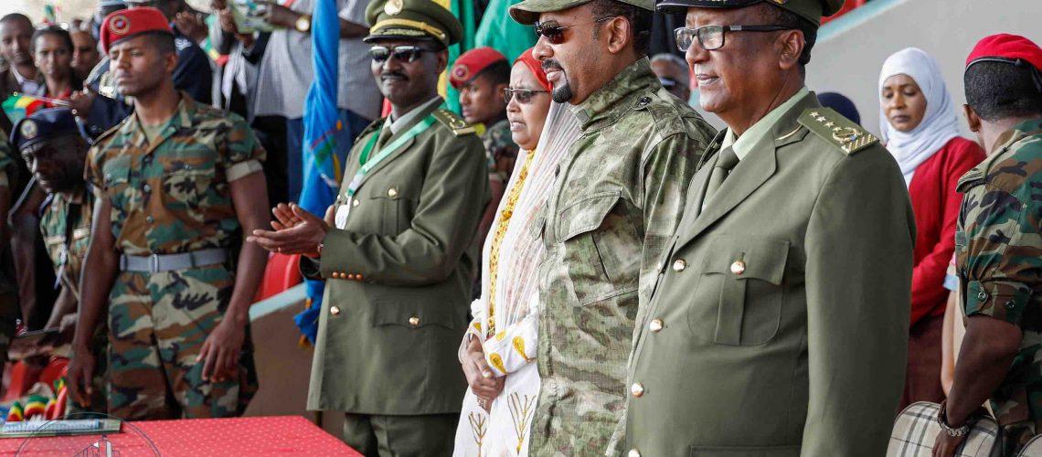 Abiy Ahmed parade