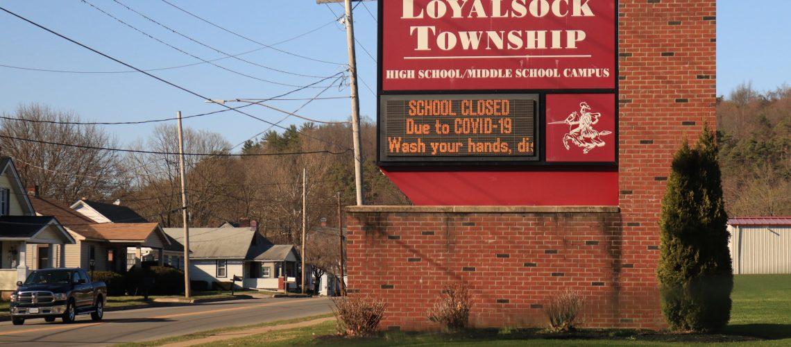 Public school closures due to Covid-19