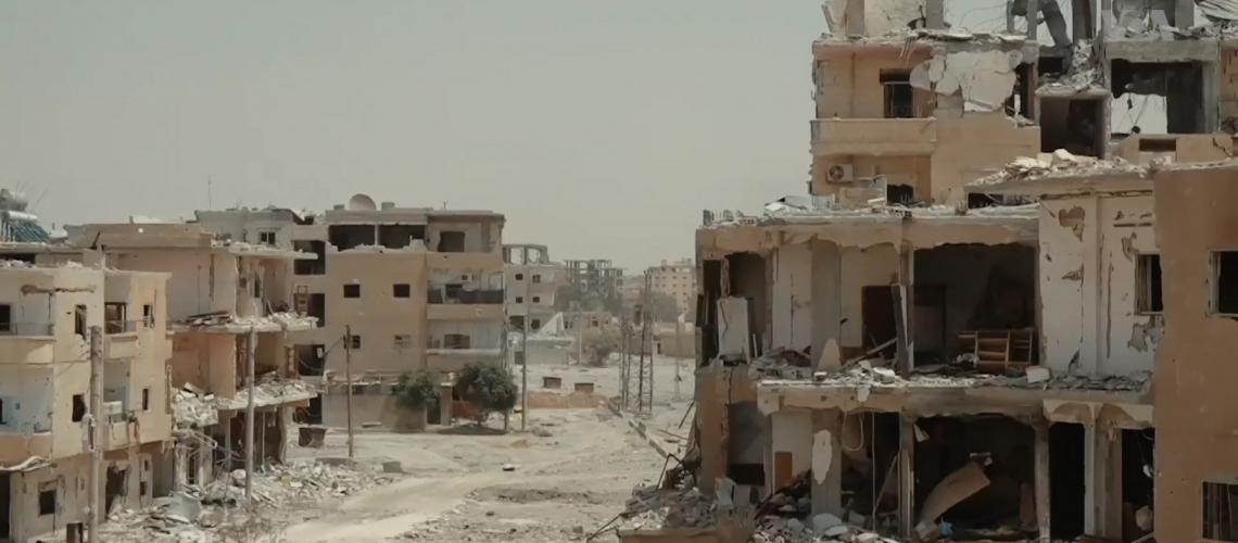 Raqqa in 2017