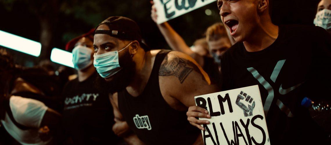 BLM Protest Charlotte