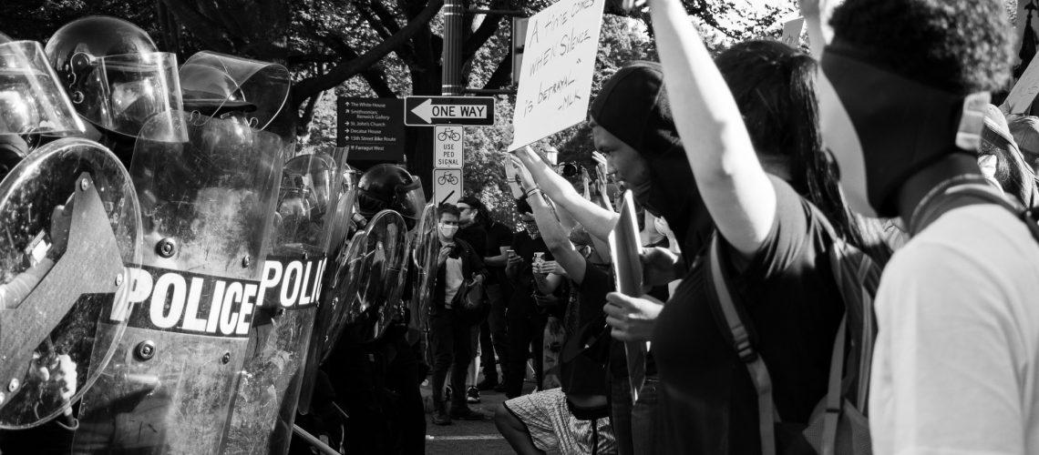 Black Lives Matter protest Washington D.C.