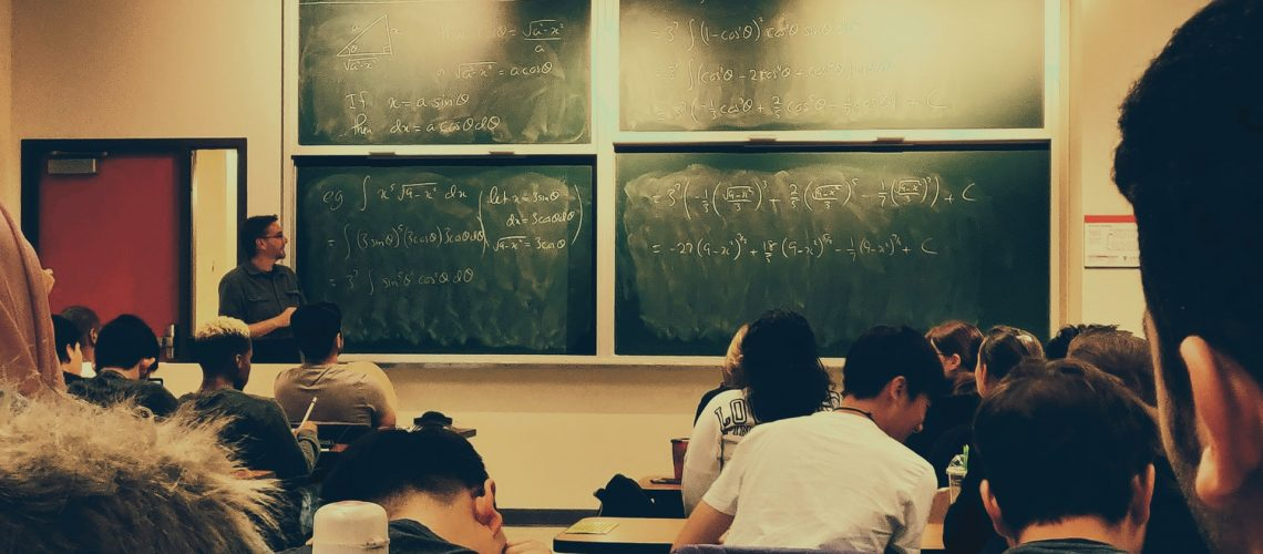 University lecture. Photo @ Shubham Sharan for Unsplash.