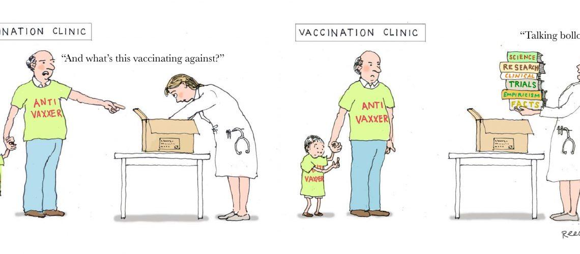 The rise of the 21st century anti-vaxxer epidemics
