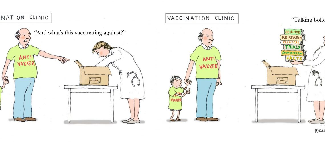 The rise of the 21st century anti-vaxxer epidemics
